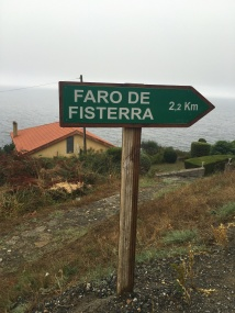 Almost there: Finisterre