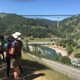 Sacramento Pilgrim Hike American River Canyon Area